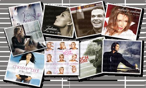 albums artistes divers